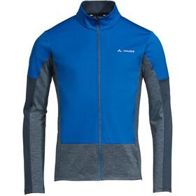 VAUDE All Year Moab T-Shirt met Doorlopende Rits Heren, signal blue